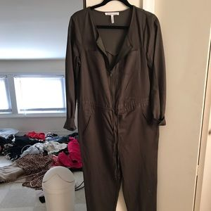 BCBG Twill Utility Jump Suit
